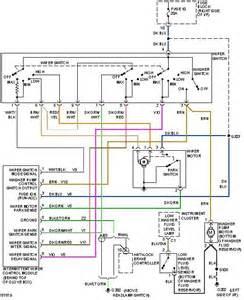 wiring diagram for 2006 dodge magnum wipers diagram