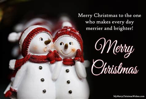 most romantic merry christmas love quotes for her him