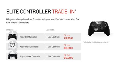 amazon xbox one trade in xbox one weiterer xbox one elite controller trade in bei
