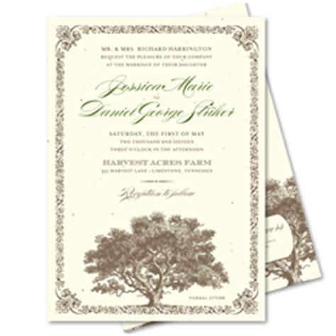 tree wedding invitations tree theme invitations woodsy wedding invitations san diego by