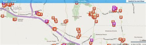 thousand oaks zip code map townhomes for sale in thousand oaks ca 91362
