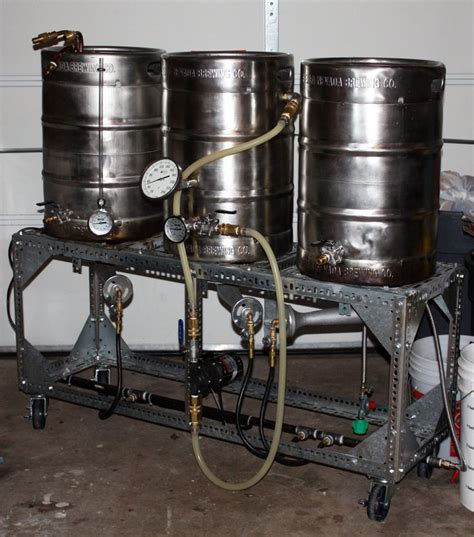 home brewing stands and home brewery rig images