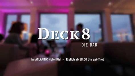 deck 8 kiel bar deck 8 im atlantic hotel kiel der kinospot