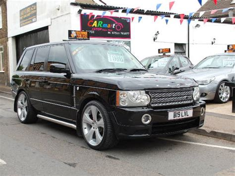 land rover vogue 2005 2005 55 land rover range rover 3 0 td6 auto vogue for sale