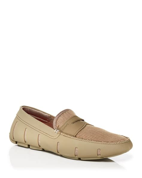 swims loafers swims loafers in khaki for lyst