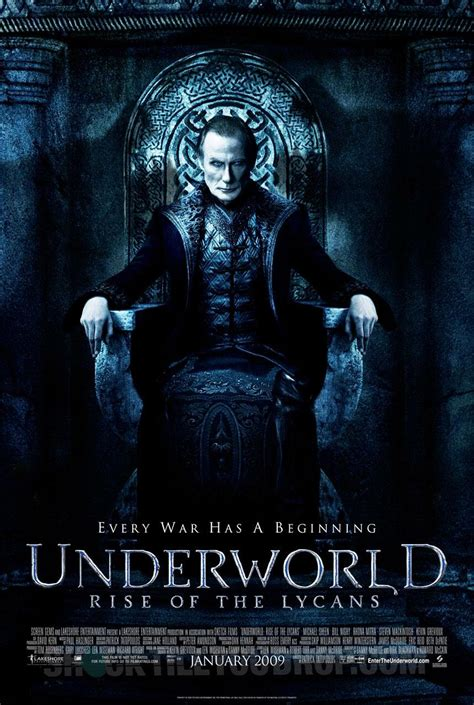 film underworld rise of the lycans 2009 underworld rise of the lycans 2009 poster