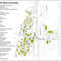 Plymouth State University Map by Campus Map Plymouth State University