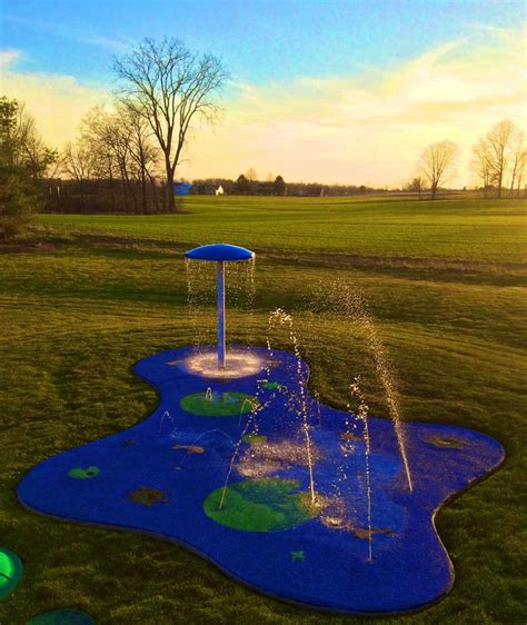 17 best ideas about backyard splash pad on