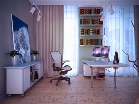 home study room white home study room interior design ideas