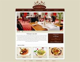 free menu design template restaurant website template free restaurant web