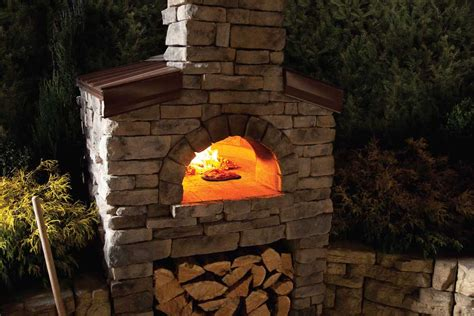 backyard pizza oven kits pizza oven kit chicago brick oven wood burning refractory