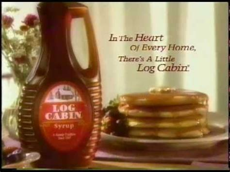 log cabin syrup heart   home commercial  youtube