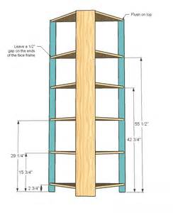Deep White Bookcase Corner Cupboard Woodworking Plans Woodshop Plans