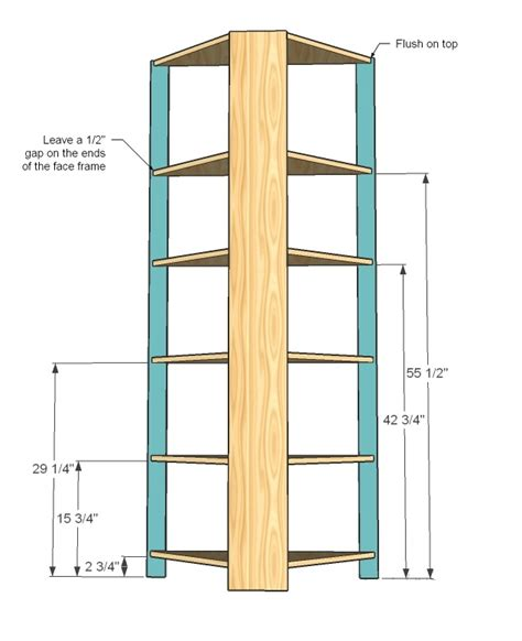How To Build A Corner Cabinet With Doors Corner Cupboard Woodworking Plans Woodshop Plans