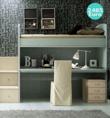 scrivania soppalco letto a soppalco con scrivania estraibile in legno