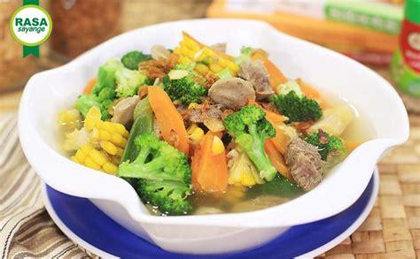 Panggangan Jagung sup jagung brokoli rasasayange co id