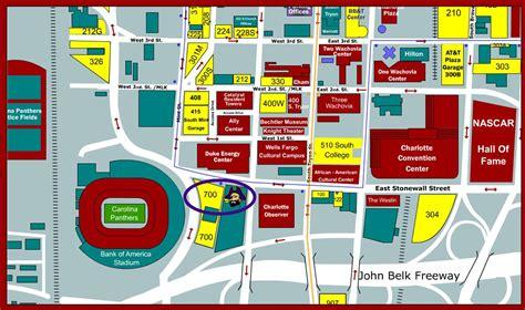 Bank Of America Stadium Nc Seating Chart View
