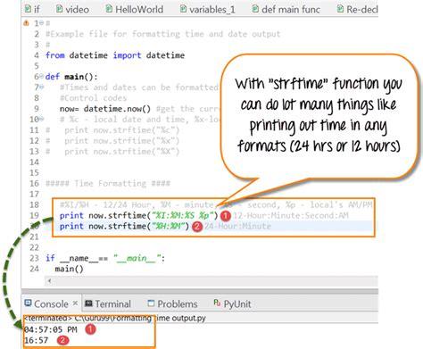 python tutorial time python date time tutorial timedelta datetime strftime