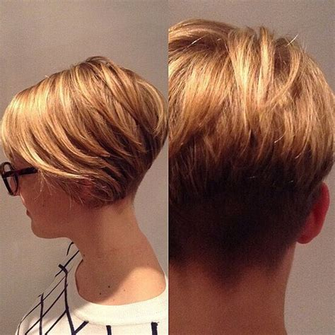 front and back views of chopped hair 17 best ideas about pixie back view on pinterest short