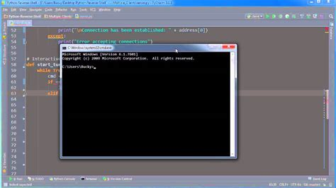 tutorial python shell python reverse shell tutorial 9 creating a custom