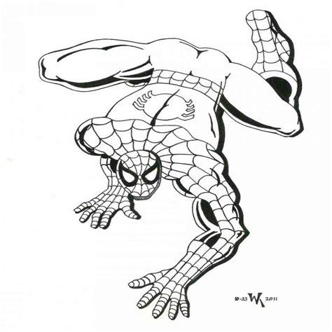 dibujos para pintar hombre araña incre 237 ble dibujos para imprimir y colorear de spiderman