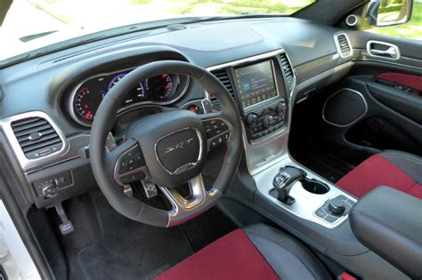 jeep grand interior 2015 2015 jeep grand srt review gayot