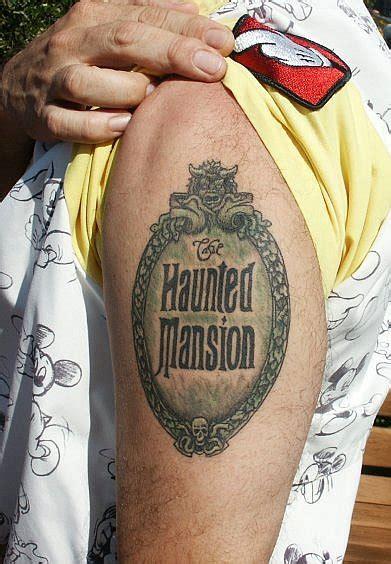 tattoo logo disney haunted mansion logo tattoo disney ink disney dispatch