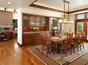 Craftsman Lighting Dining Room Built In Hutch Archives Dining Room Decor