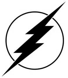 Flash Symbol Outline by Geekeryshoppe On Artfire