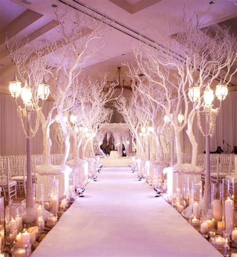 winter wedding aisle decorations luxury wedding centerpieces archives weddings romantique