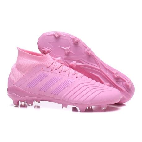 adidas  predator  fg soccer cleats pink