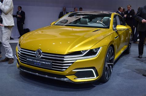 new volkswagen sports car new vw four door coupe concept to debut in geneva could