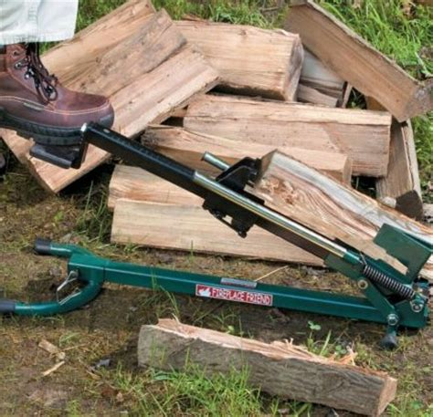 Fireplace Friend Log Splitter fireplace friend foot operated firewood splitter 314428 ebay