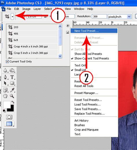 Crop Ukuran 31 34 membuat crop tool pada photoshop untuk ukuran pas foto ataya media