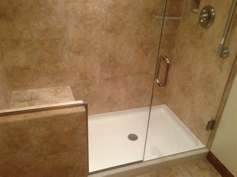 custom shower stalls with seat home remodeling by maumee river remodeling custom