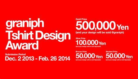 design tshirt graniph japan graniph tshirt design award 2014 opportunity desk