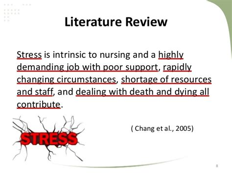 Alleviating Stress With Humour A Literature Review by Literature Reviewstress Among Nursing Students