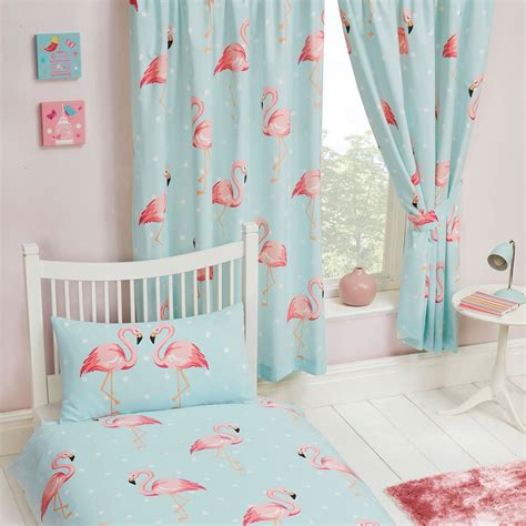 blue lined curtains bedroom fifi flamingo blue turquoise curtains lined 66 quot x 54 quot kids