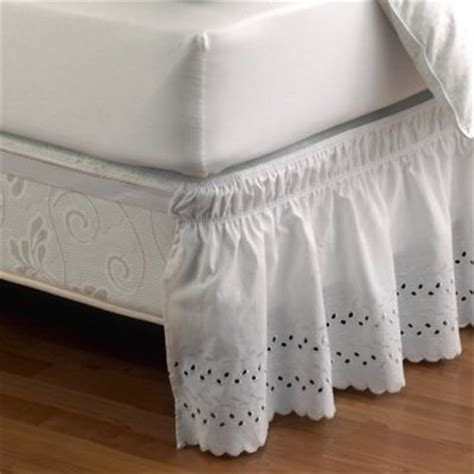 white bed skirt queen buy white bed skirts from bed bath beyond