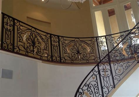 cast iron banister interior designs that revive the wrought iron railings