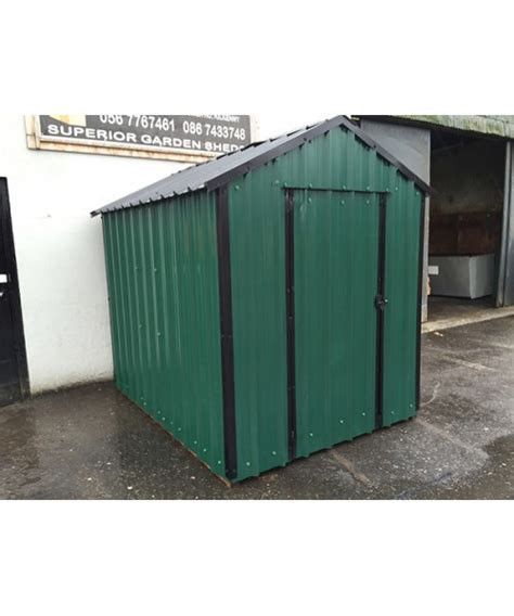 Metal Garden Shed Sale by 12ft X 6ft Green Steel Garden Shed Garden Sheds For Sale