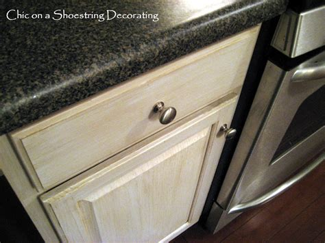 Changing Kitchen Cabinet Hardware chic on a shoestring decorating how to change your