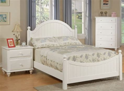 girls white bedroom suite spring dream panel bed bedroom package poundex furniture