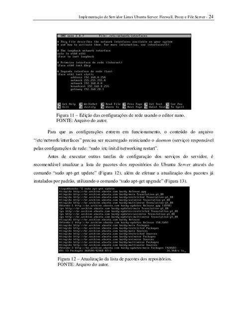Implementação de Servidor Linux Ubuntu Server