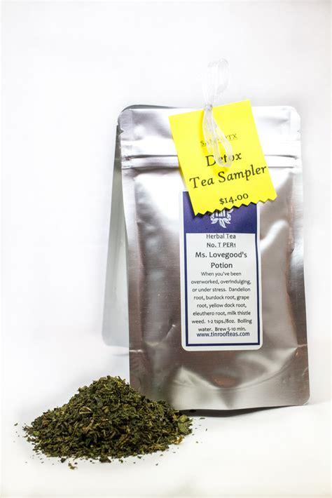 Herbal Tea Marijuana Detox by Detox Sler Tin Roof Teas