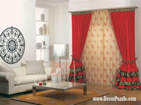 red curtains for living room the best curtain styles and designs ideas 2015