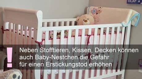 decken fã r die gitterbettschutz und baby nestchen erstickungsgefahr f 252 r