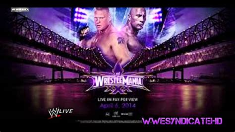 theme song wrestlemania 30 2014 wrestlemania 30 custom theme song quot let it roll quot by