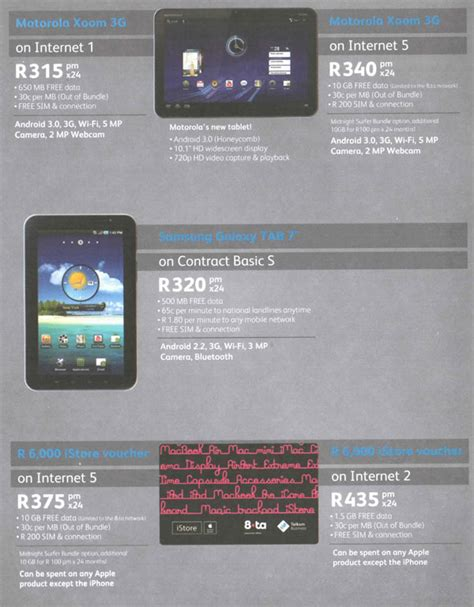 business mobile deals telkom business mobile tablet pc deals