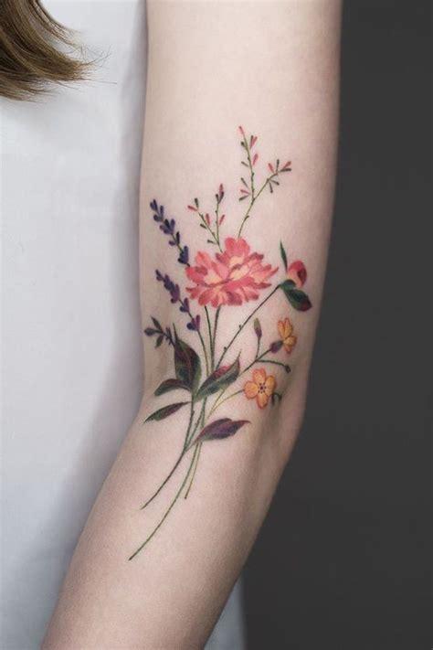 pretty flower tattoo designs 28 gorgeous wildflower tattoos for free spirits tattoos